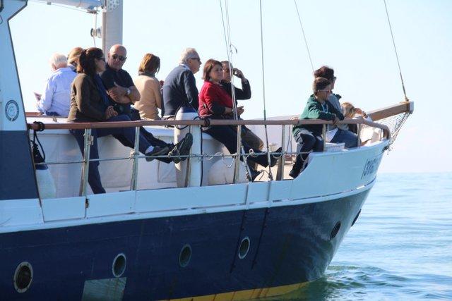 Segui la regata a bordo di Artiglio