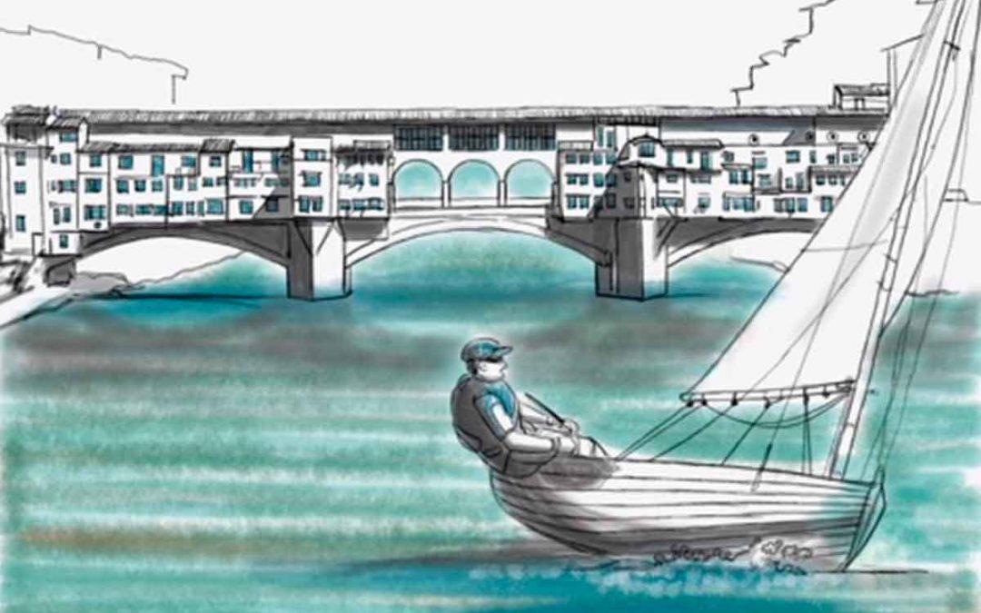 A vela sull'Arno
