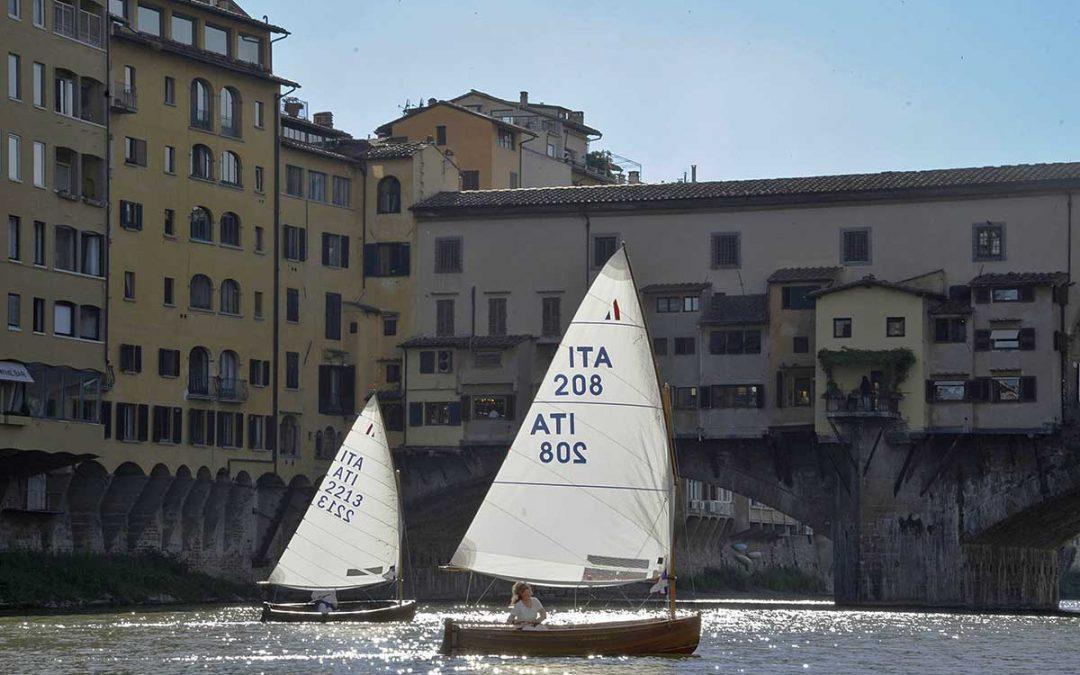 In regata sull'Arno