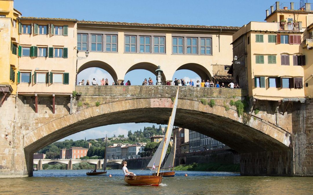 2a Coppa Ponte Vecchio, i Dinghy 12″ classici tornano in Arno